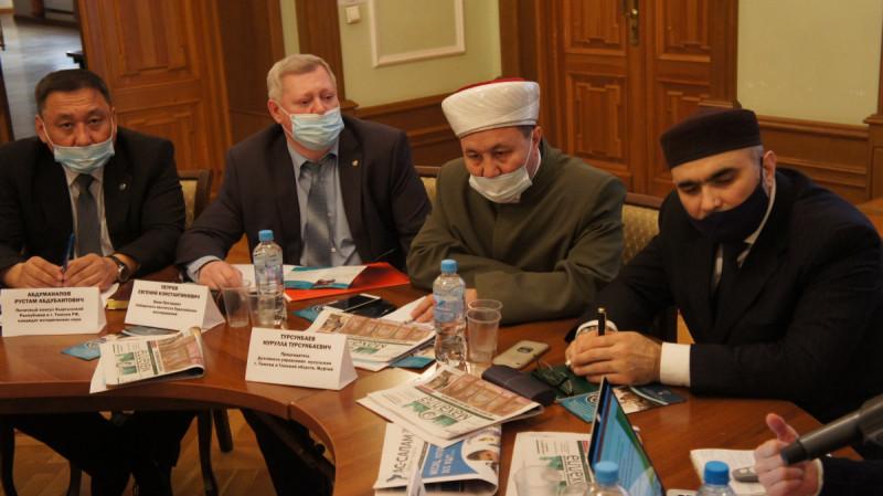 Шестое заседание дискуссионного клуба евразийской исламской молодежи